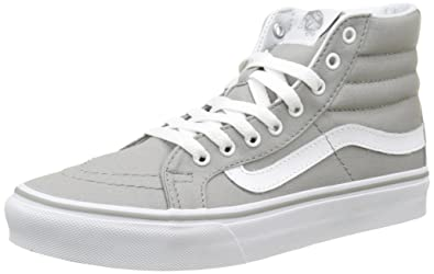 Vans Womens Light Gum SK8-Hi Slim Skate Shoes Drizzle True White 9 B 2637eceaf