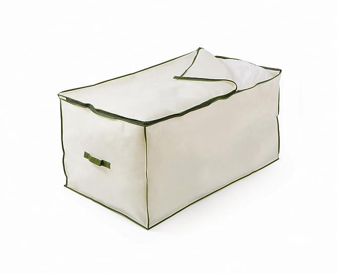 11 opinioni per H & L Russel Ltd Contenitore Jumbo, colore: crema con bordi verdi