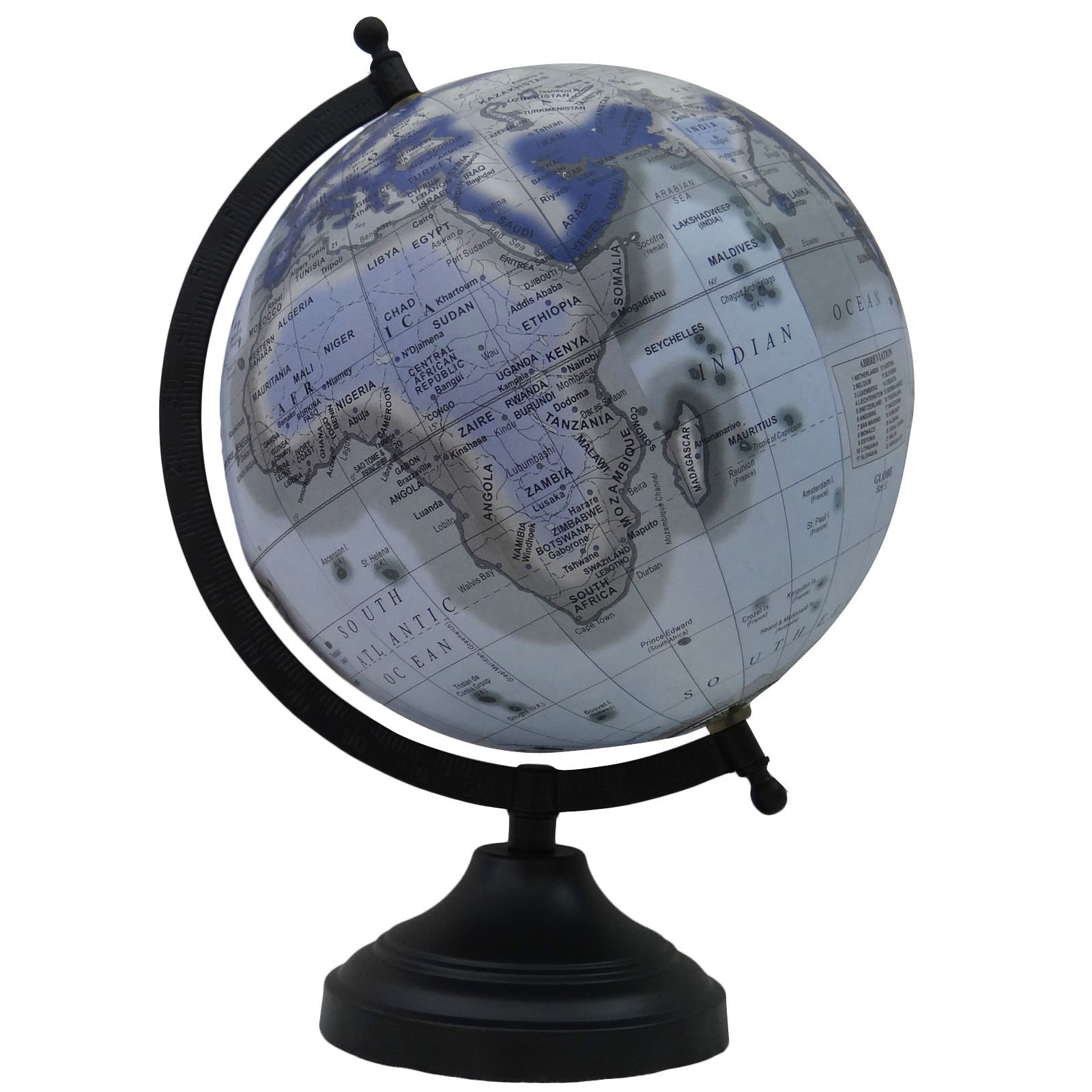 Desktop Decorative Rotating World Globe Office Table Home Decor Globes Gift
