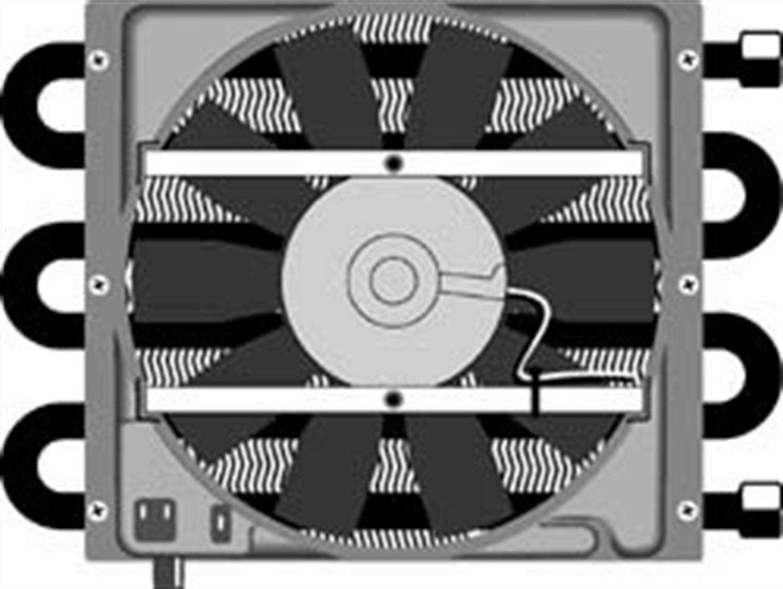 Flex-a-lite 45951 6-Pass Shrouded Heavy Duty Remote Oil Cooler - 26,000 GVW by Flex-a-lite
