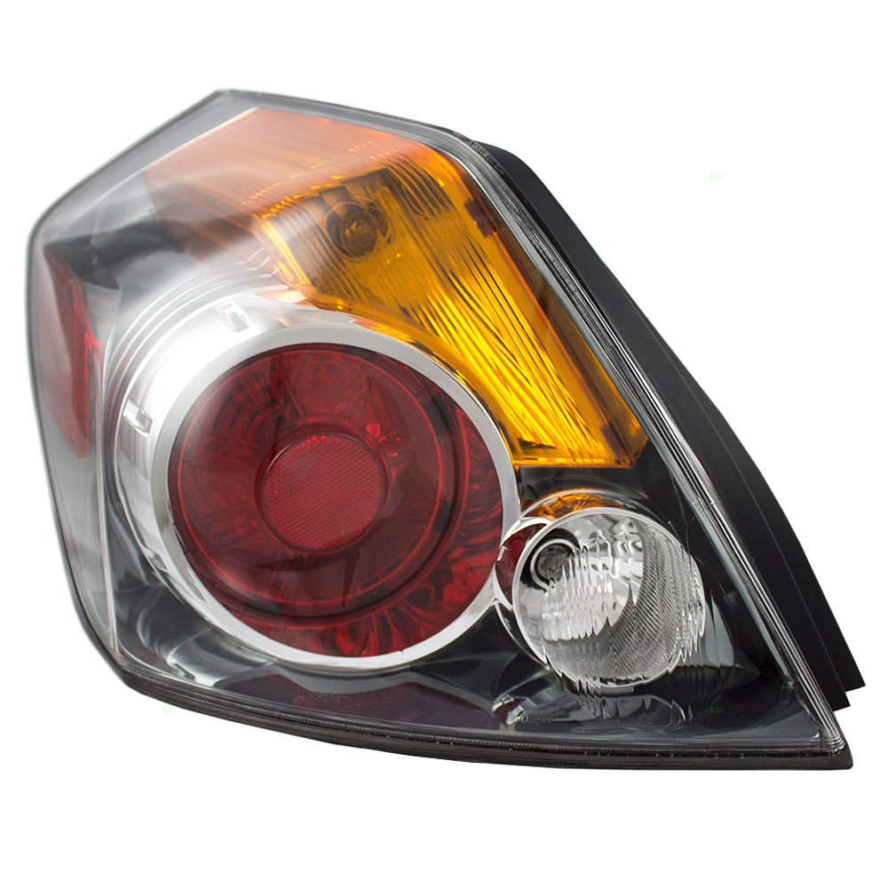 Drivers Taillight Tail Lamp Lens Replacement for 07-12 Nissan Altima Sedan 26555-ZN50A 4333007243