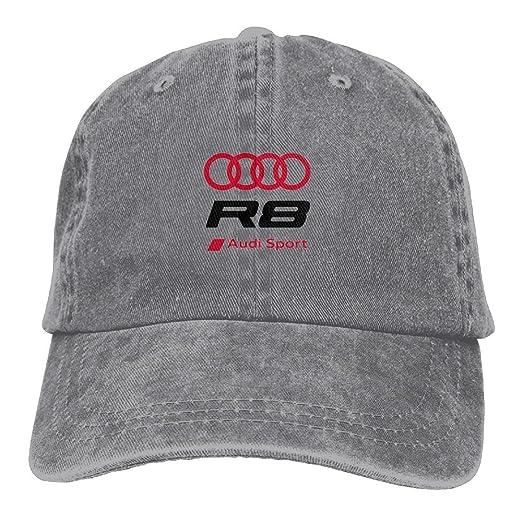 2faebe929c7e8 SumiDom R8 Sport Unisex Adult Baseball Cap Trucker Hat Cowboy Hat Hip Hop  Sports Snapback at Amazon Men s Clothing store