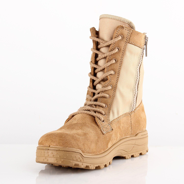 BURG890Z.8i Flex Trainer Duty Boot with Side Zipper Men - Light Weight for Men Zipper and Women B079134P8Q 45 (US Mens 11.5 / Ladies 12.5 -13)|Tan e3a9b5