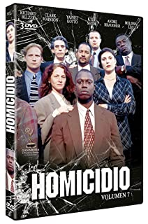 Homicidio (Homicide: Life on the Street) - Volumen 7 [DVD]