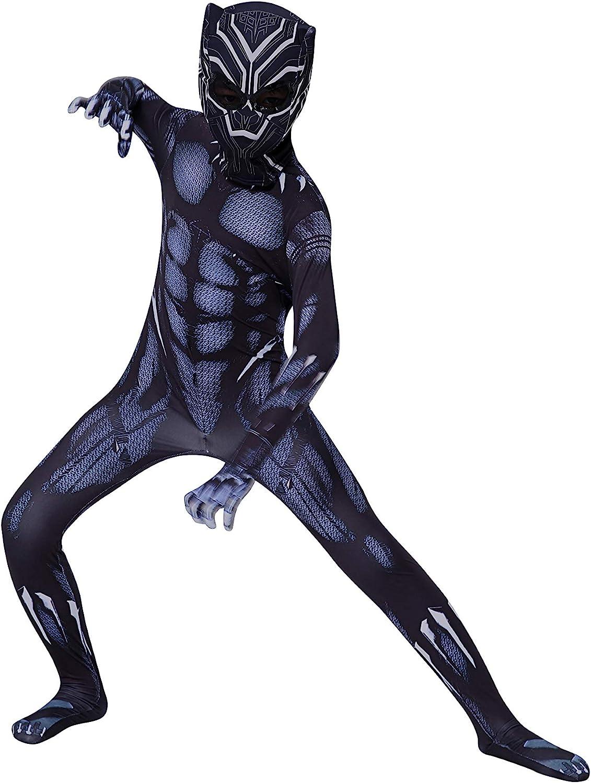 YUNFENG Kids Bodysuit Superhero Costumes Lycra Spandex Halloween Cosplay Costumes