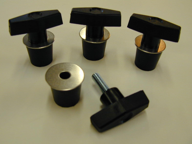 DaSen 4x Ring Bolt and Grip Thread Head Quick Lock /& Ride Tie Down Anchor Kit Fit Polaris UTV RZR ACE Sportsman