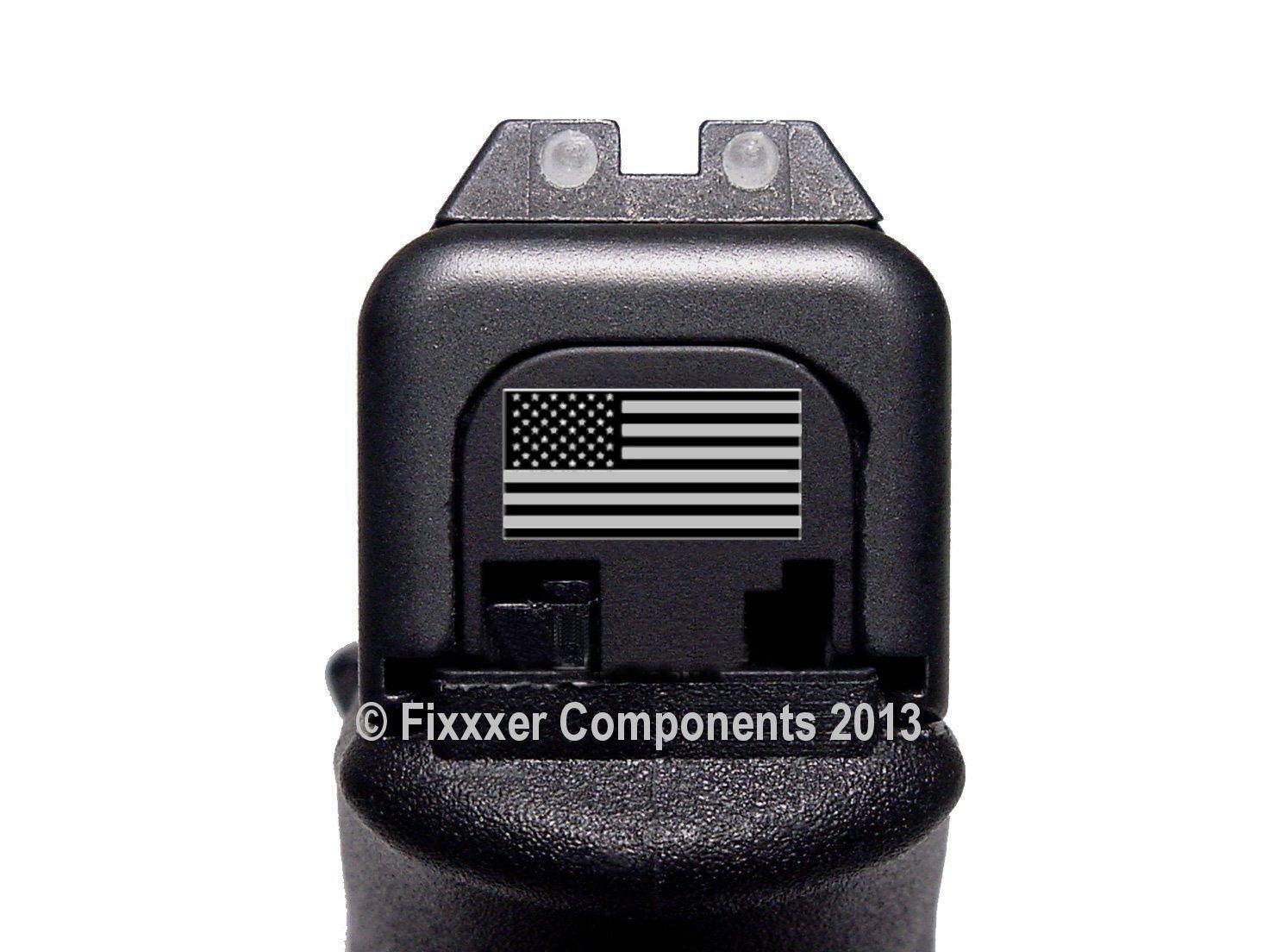 Fixxxer American Flag Slide Cover Plate for Glock