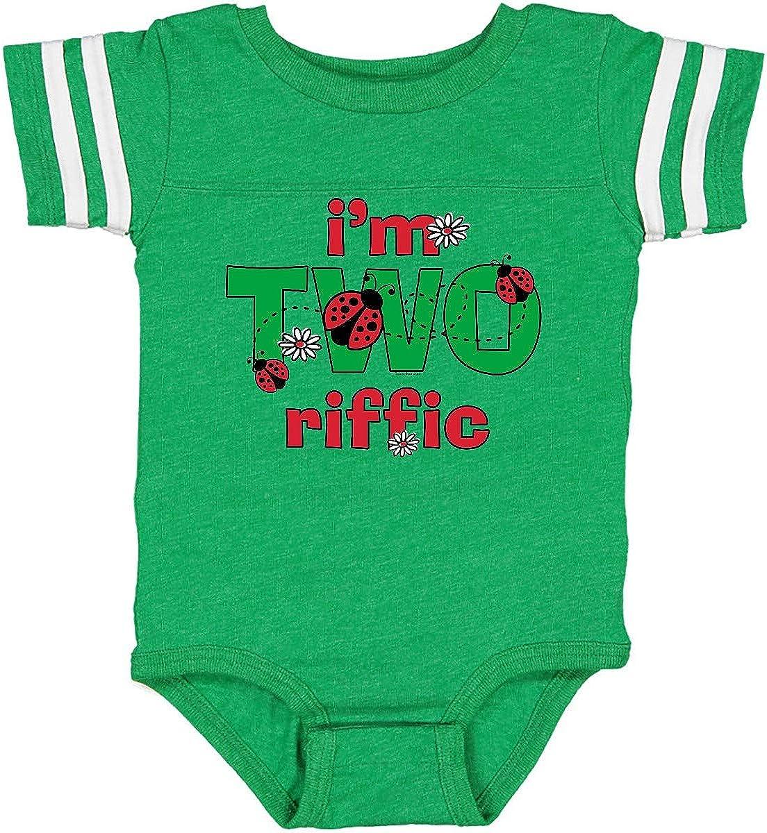 inktastic TWOriffic Ladybug 2nd Birthday Infant Creeper