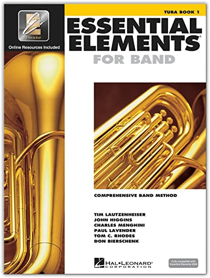 sale retailer e335b 04f4a Amazon.com  Hal Leonard Essential Elements for Band - Tuba (Book 1 with  EEi)  Hal Leonard  Musical Instruments