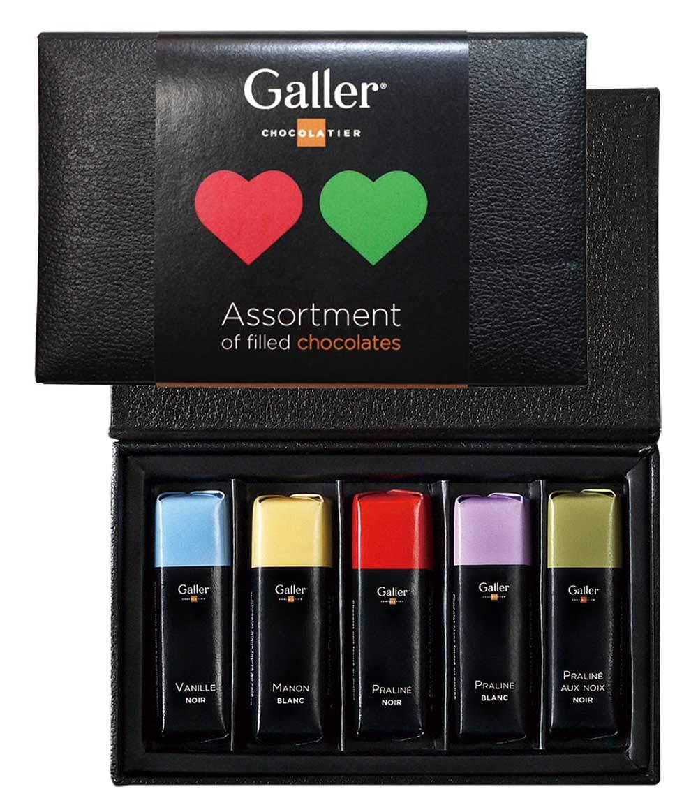 ガレー Galler ミニバーラグジュアリーギフトボックス 5本入 2019年限定パッケージ(5箱セット)