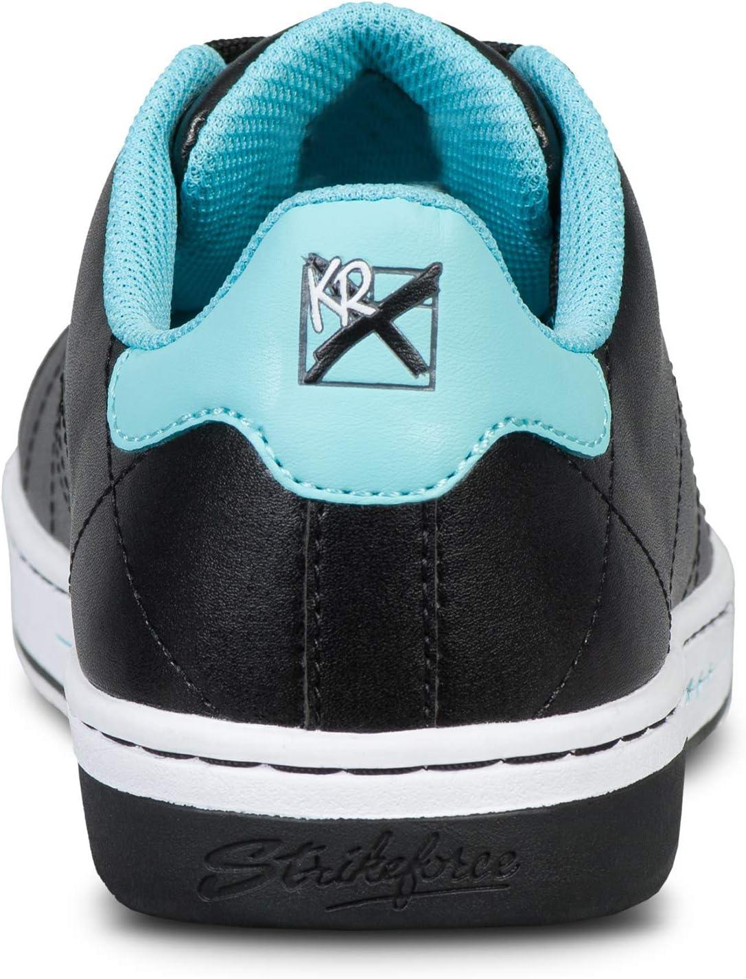 KR Gem Black//Teal Ladies Size 10 Renewed