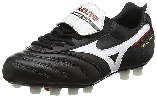 Mizuno MRL Classic MD, Scarpe da Calcio Competizione Uomo, Black (Black/White/Red), 42