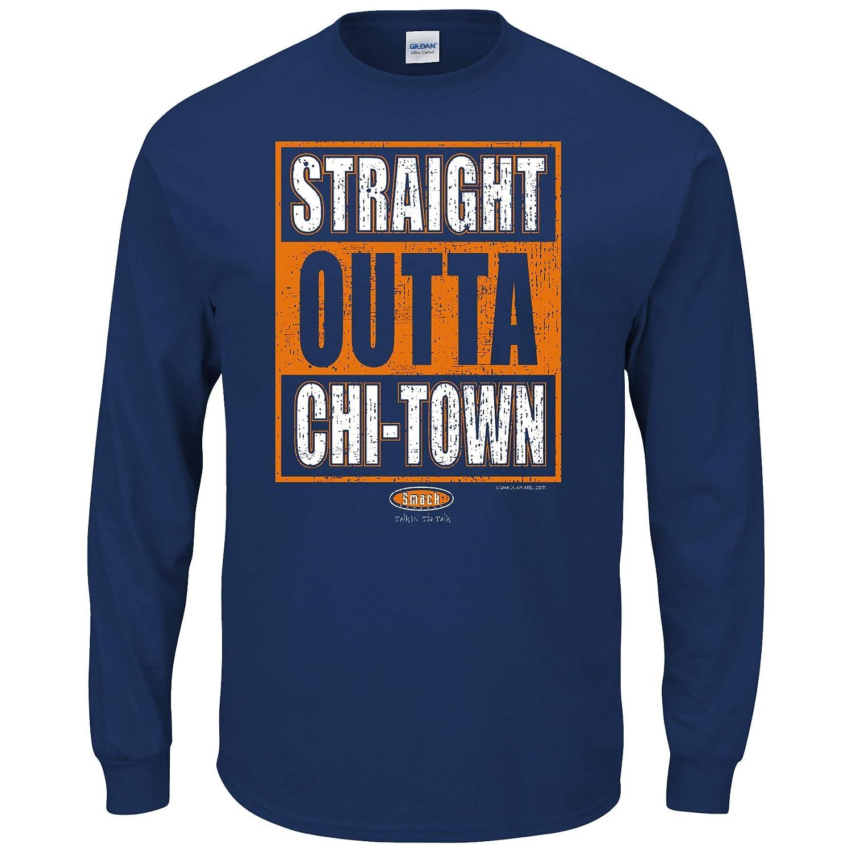 【信頼】 Chicago Bearsファン B01K29H6M8。Straight Tシャツ( Outta chi-town Navy ) Tシャツ( sm-3 X ) 6L B01K29H6M8, LUMAX:9037b7a7 --- kickit.co.ke