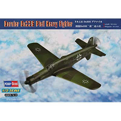 Hobby Boss Dornier Do335 Pfeil Easy Assembly Kit: Toys & Games