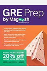 GRE Prep by Magoosh Paperback