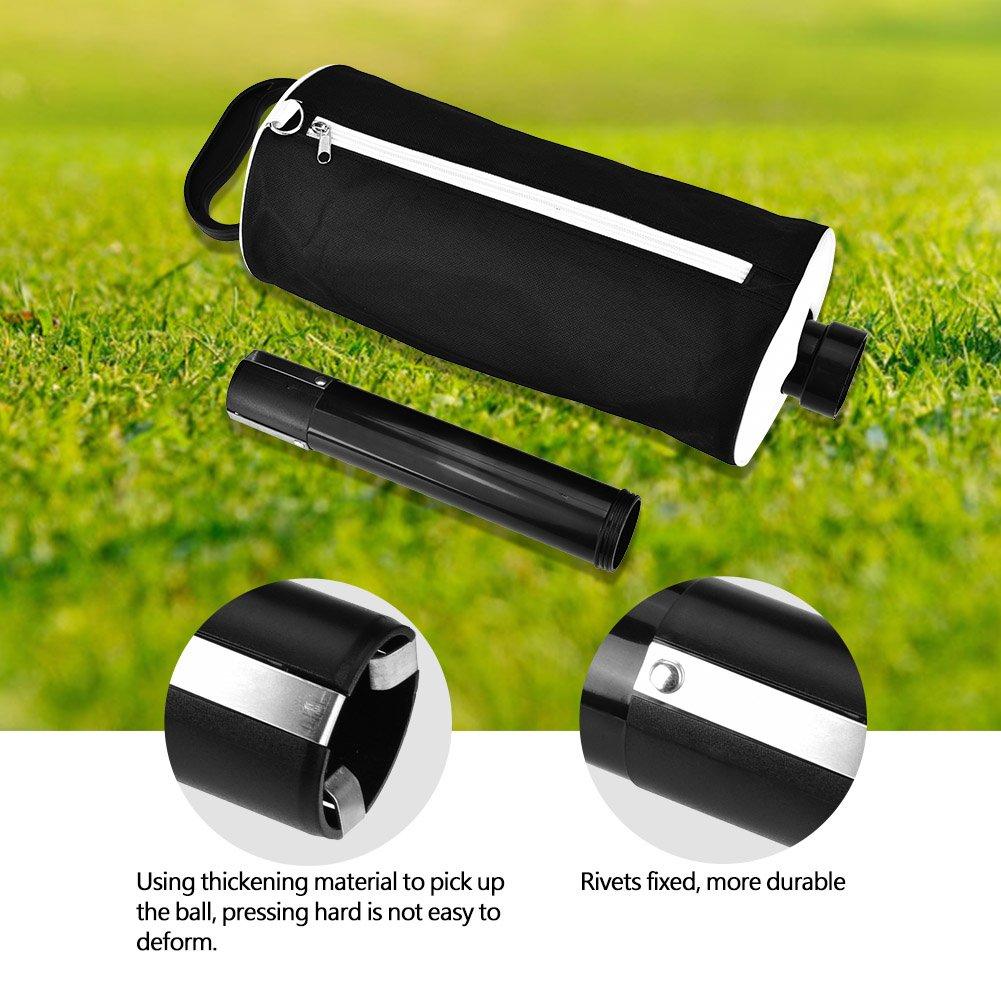 Vbestlife Golf Ball Pick Up Bag,Portable Golf Ball Picker Pick-Ups Retrievers Grabber Pocket Storage Bag Scooping Device by Vbestlife (Image #2)