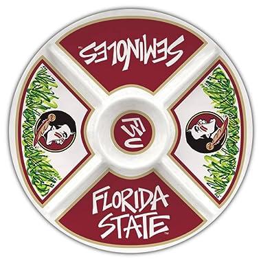 Collegiate Melamine Veggie Tray (Florida State Seminoles)