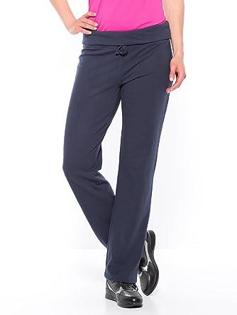Balsamik - Pantalon de jogging en maille fluide - femme - Taille   50 52 a97045c62b0