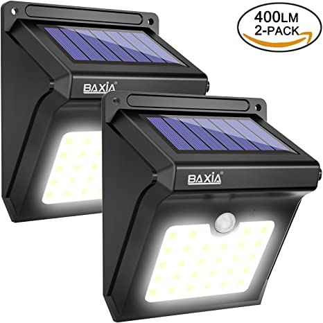 Baxia technology solar lights solar motion sensor lights outdoor baxia technology solar lightssolar motion sensor lights outdoor waterproof wireless bright 28 led aloadofball Image collections