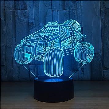 Amazon.com: Shuangklei - Lámpara de coche de carreras con ...