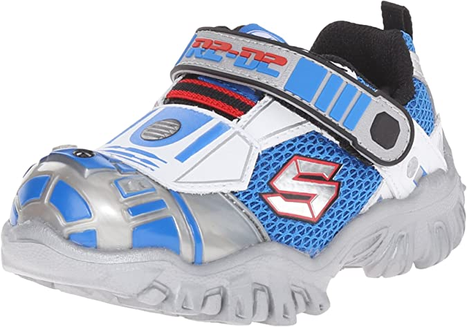1 or 2 NWT STAR WARS STORM TROOPER Light-Up Sneakers Shoes Boys Sz