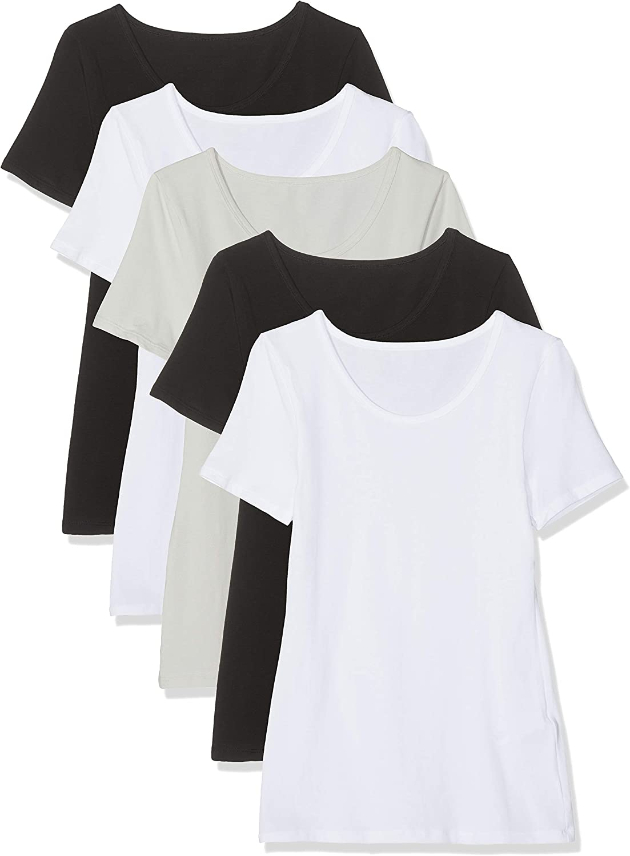 Maglev Essentials T-Shirt Girocollo Donna Pacco da 3 e 5