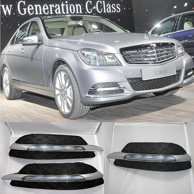 CNAutoLicht 2049069000 Right LED Daytime Running Lights DRL Fog Lamp For Mercedes Benz W204 S204 C180 C200 C220 C230 C250 C280 C300 C320 C350 07-15
