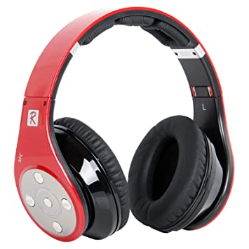 03af14684ab Bluedio R+ Bluetooth Headphones HiFi Rank Wireless: Amazon.co.uk:  Electronics