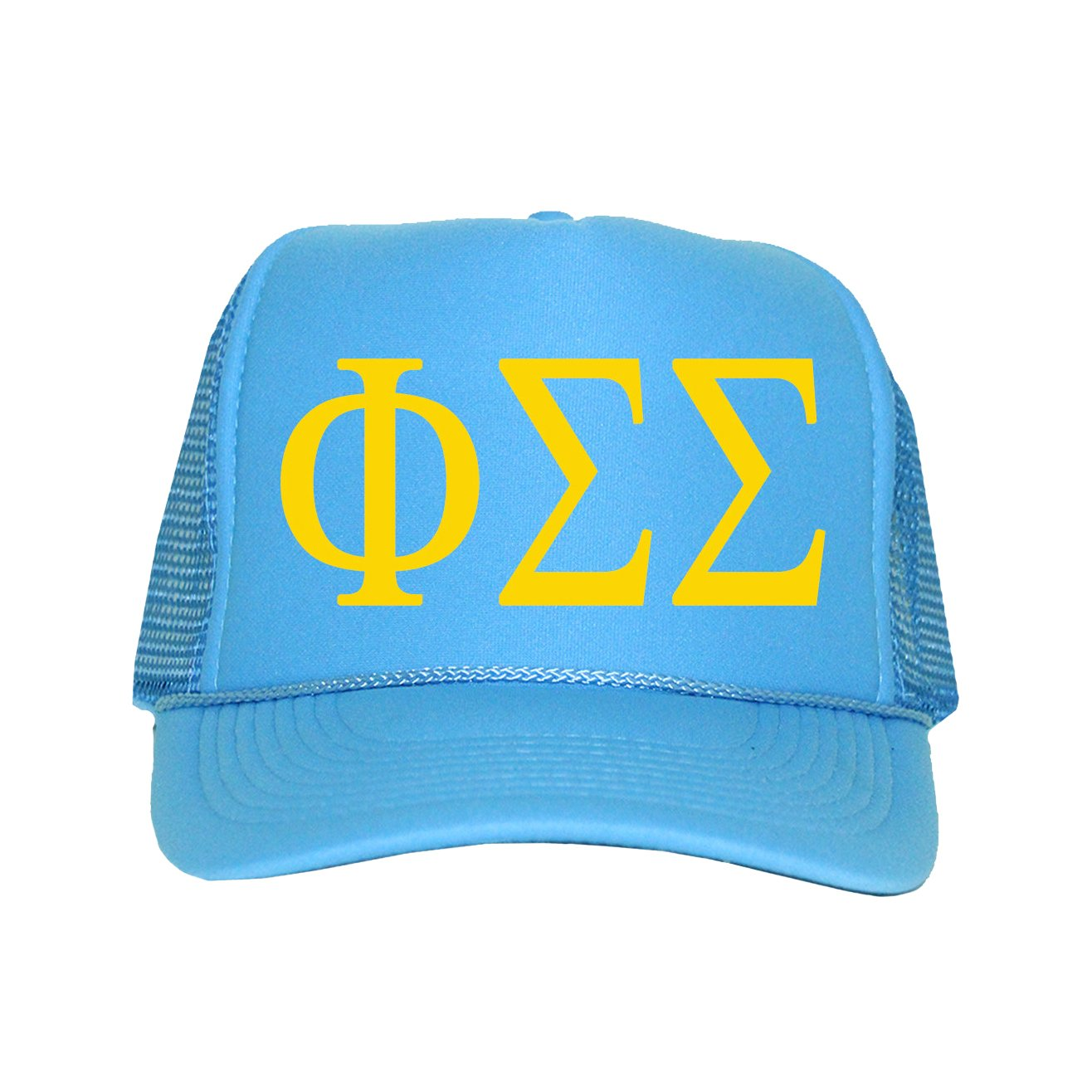 Phi Sigma Sigma Hat - Columbia Blue at Amazon Women s Clothing store  438e08bbd89