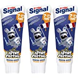 Signal Dentifrice Junior 7-13 Ans Menthe Douce 75ml - Lot de 3