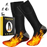 GREATSSLY Heated Socks, Foot Warmers for Men & Women, 10 Hours