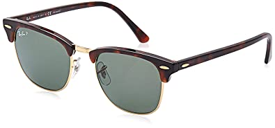 Amazon.com: Ray-Ban RB3016 Clubmaster - Gafas de sol ...