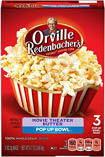 Orville Redenbachers - Popcorn de microonda de la mantequilla del ...
