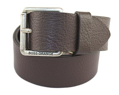 BOSS Hugo Ceinture - Homme Noir noir 90 95 100 105 - Marron - 85  Amazon.fr   Vêtements et accessoires 885e4b10e19