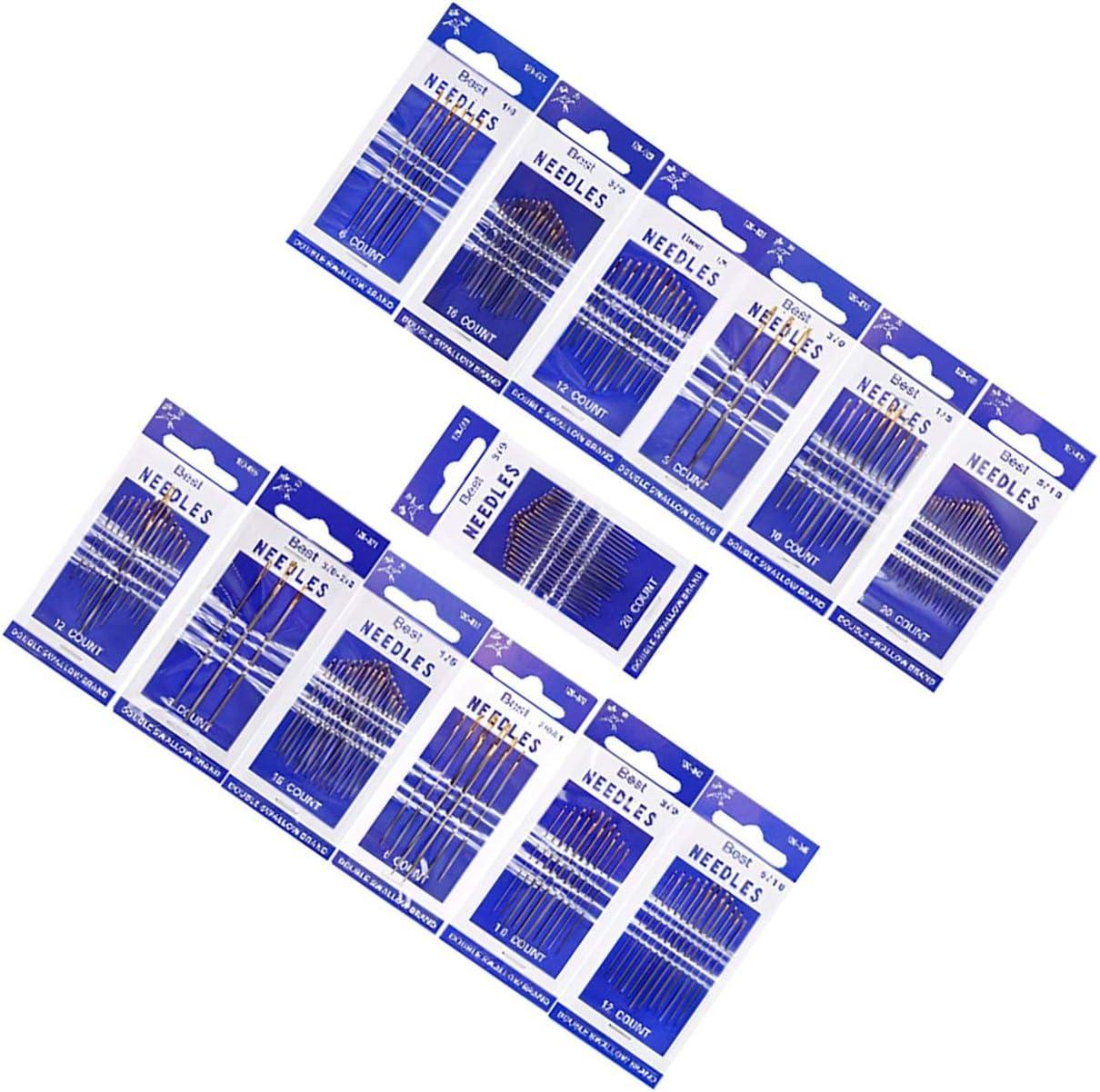 YUIO C01-004-00179 N/ähnadeln Einf/ädeln Industrielles Universal-Mixed-Kit-Verpackungsn/ähmaschinenzubeh/ör Silber C01-004-00179