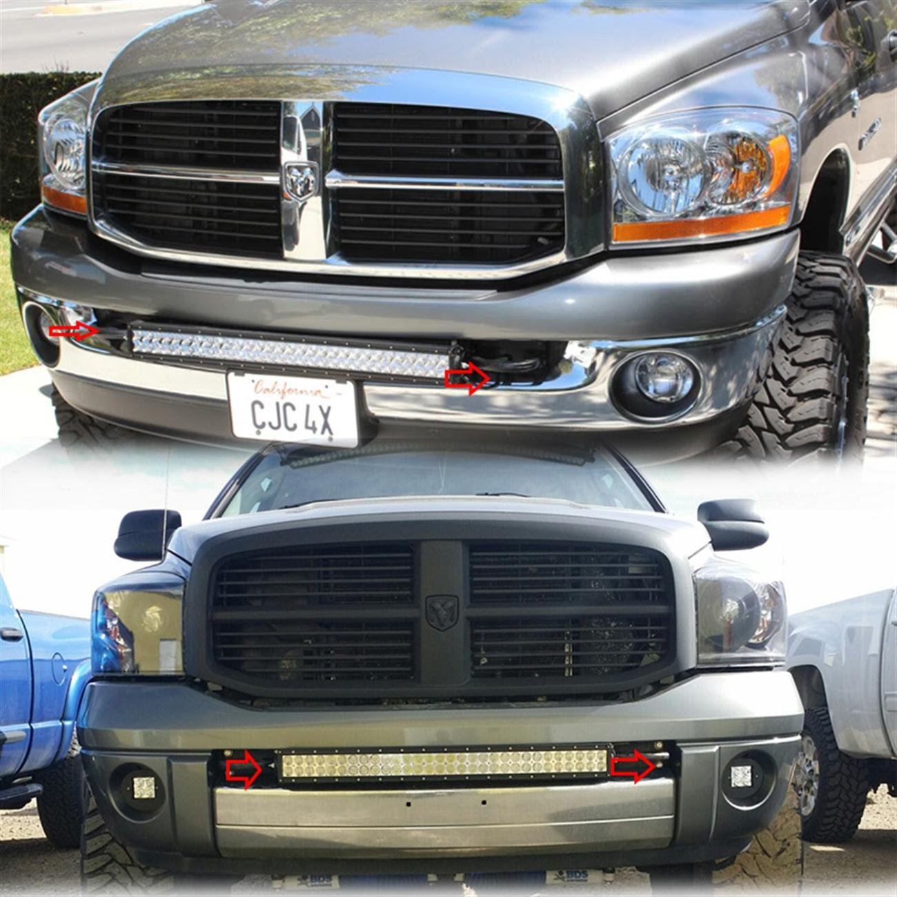 20 22 led light bar bumper mount brackets kit for 09 16 dodge ram 20 22 led light bar bumper mount brackets kit for 03 16 dodge ram 25003500 aloadofball