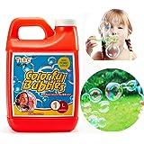 Tuko Bubble Solution Refill (up to 2.5Gallon) Big Bubble Solution 32 Ounce Concentrated Solution for Bubble Machine, Easter