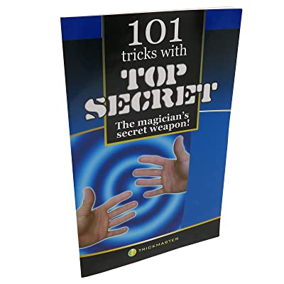 Loftus 101 Thumb Tip Tricks Book 101 Magic Tricks with A Thumb Tip Book - Top Secret!, Multicolor: Toys & Games