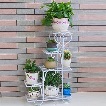 Amazon MultiStorey Flower Racks Iron Art Balcony Living Room Mesmerizing Art Display Stands Racks