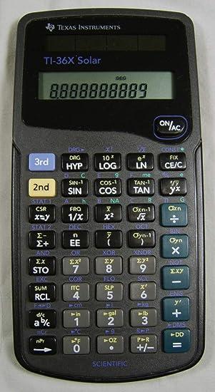 Texas Instruments Ti-36x Ti36x Solar Scientific Calculator for sale online