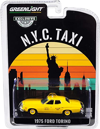 Greenlight 1987 Chevrolet Caprice NYC Taxi New York City 1:64
