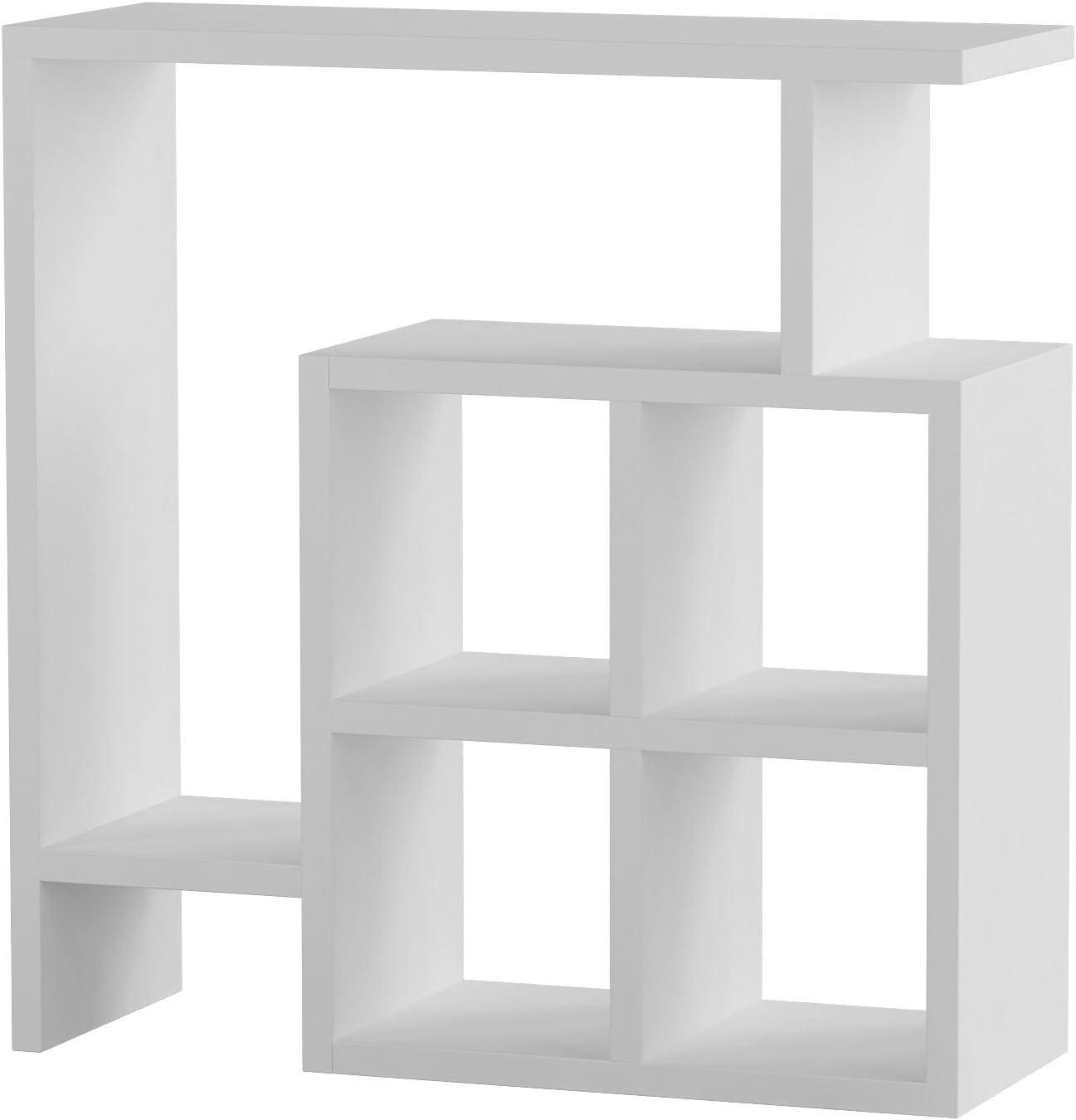 Ada Home Décor Smith Side Table, 22'' x 22'' x 8'', White