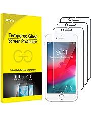 JETech J0806 Pellicola Protettiva in Vetro Temperato per iPhone 6s, iPhone 6 iPhone 7 e iPhone 8, Pacco da 3 pezzi