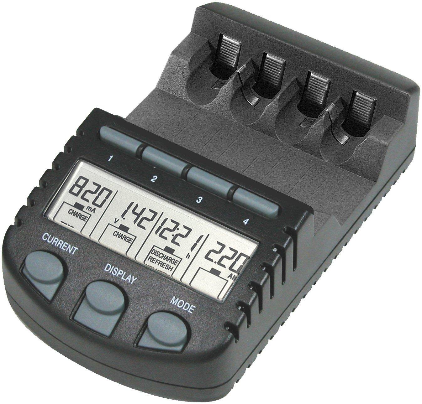 Nero colore Technoline BC 700 Set caricatore per batterie ...
