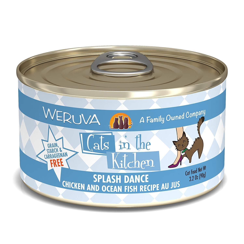 Amazon.com : Weruva Cats in the Kitchen, Splash Dance with Chicken ...