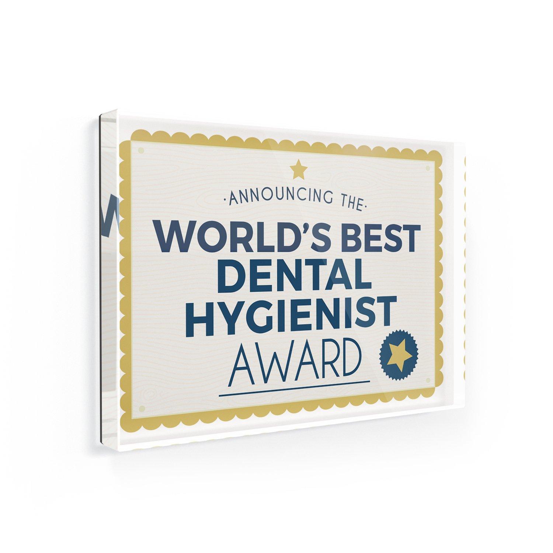 Amazon Fridge Magnet Worlds Best Dental Hygienist Certificate