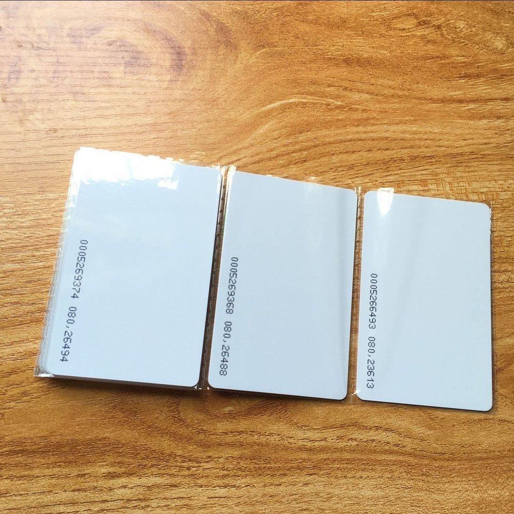 Amazon.com: Tarjetas de proximidad 125 KHz RFID EM4100 ...