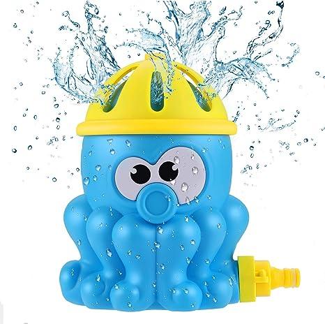 Gifort Splash Play Mat Aspersor de Juego para Salpicar con Rociadores de Agua