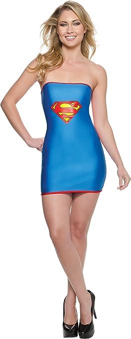 Rubies Vestido Disfraz de Supergirl Sexy para Mujer: Amazon.es ...
