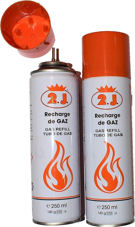 2J Juego de 2 recambios para encendedores de gas, antorcha ...